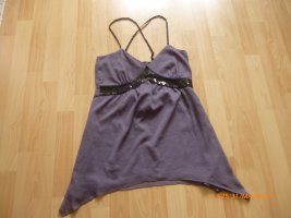 Vero Moda Túnica lila grisáceo-malva Poliéster