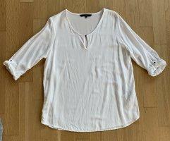 Vero Moda Bluzka tunika w kolorze białej wełny Wiskoza