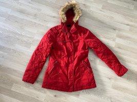 Vero Moda Kurtka zimowa ciemnoczerwony-ceglasty