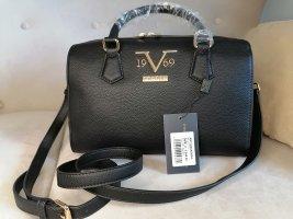 VERSACE 19.69 - stylische Handtasche -Borsa Bauletto - vegan - schwarz