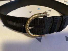 Gianni Versace Leather Belt black