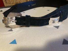 Gianni Versace Leather Belt black