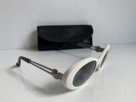 Versace Retro Glasses white-silver-colored