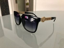 Versace Angular Shaped Sunglasses black