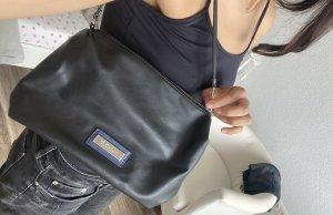 Versace Shoulder Bag black-silver-colored