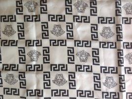 Versace weiß schwarz Seide Tuch