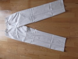 Versace Pleated Trousers white cotton