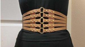 Versandfrei mit DPD Breiter Hüftgürtel Stretch Taillengürtel Buckle Vintage Elastic Belt Korsett 90s