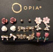 Opia Orecchino a vite multicolore