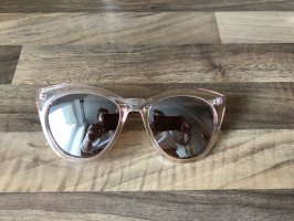 H&M Gafas de sol ovaladas color plata-rosa
