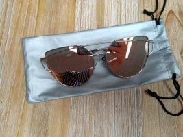 Gafas de sol redondas color plata