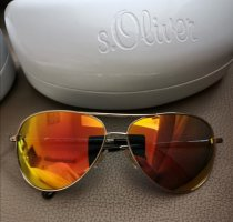 s.Oliver Round Sunglasses gold-colored