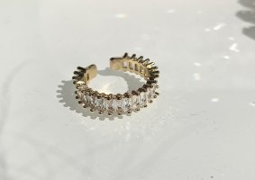 keine Gold Ring gold-colored
