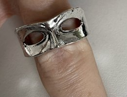 Statement Ring silver-colored-light grey