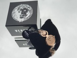 VERSUS Versace Watch With Metal Strap gold-colored