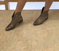 Vic Matie Wciągane buty za kostkę brąz