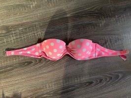 Victoria's secret Bikini Oberteil gepunktet bandeau pink