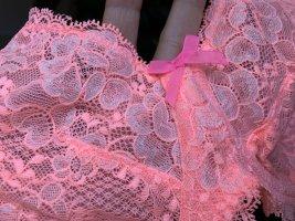 Victoria's Secret Set lingerie fucsia neon