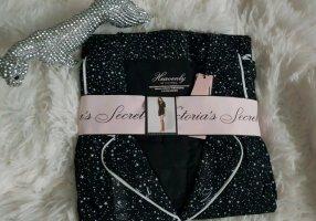Victoria's Secret Piżama biały-czarny