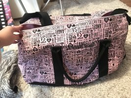Victoria's Secret Borsa da weekend rosa-nero