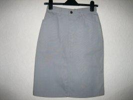 Viking Denim Skirt light grey