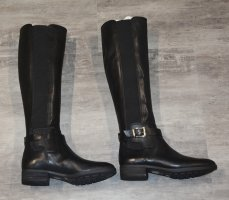 Vince Camuto Riding Boots black leather