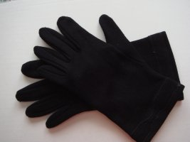 Vintage Guanto con dita nero