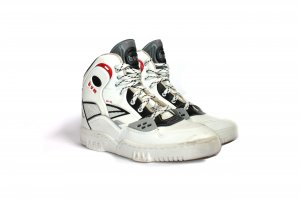 Vintage 90s High Sneakers Bum BX 135 Sneaker