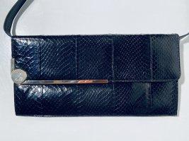 Vintage-Abendtasche aus glänzendem Schlangen-Leder
