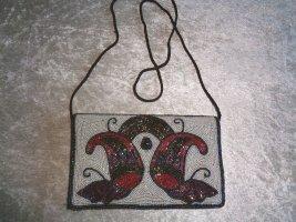 Vintage Abendtasche mit Perlenstickerei