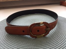 Aigner Leather Belt cognac-coloured