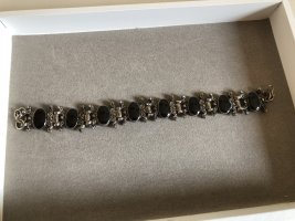 Vintage Bracelet black-silver-colored