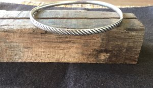 Bangle silver-colored