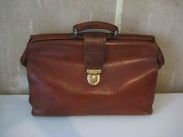 College Bag cognac-coloured leather