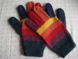 Vintage Gloves multicolored