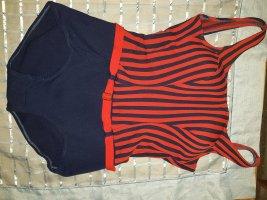 Zwempak rood-blauw