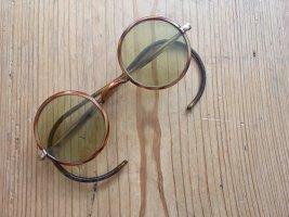 Vintage Gafas marrón-marrón claro