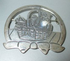 Vintage# Brosche#Mexico Taxco Sterling Silber 925