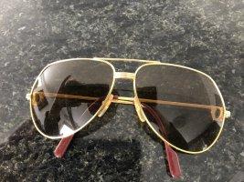 Cartier Gafas color oro metal