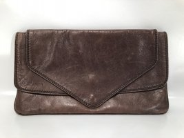 Vintage Clutch im Envelope-Design - Leder