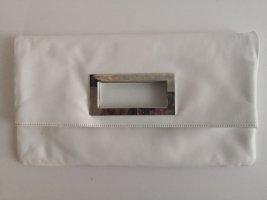 Vintage Clutch Tasche Weiß Cleanchic Italy