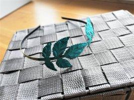 Vintage Diadem mit Blättern