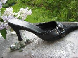 Vintage Dior Luxus Pool Pantoletten Silberringe Elegant & Edel 4  NP 539 €