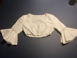 Vintage Love Folkloristische blouse wit Katoen