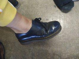 Dr. Martens Sznurowane buty ciemnoniebieski