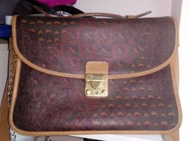Escada Briefcase multicolored leather