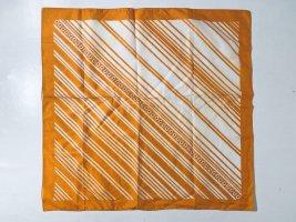 Aigner Neckerchief orange-white cotton