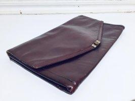 "Vintage Goldpfeil ""Sport"" Envelope Clutch aus Leder"