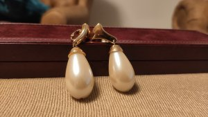 Vintage GROßE Perlen Ohrringe