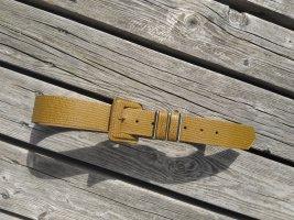 Unbekannte Marke Faux Leather Belt light brown